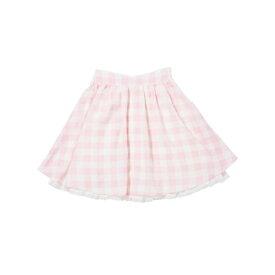 ギンガムチェックDollスカート /mille fille closet/ロディスポット(LODISPOTTO)