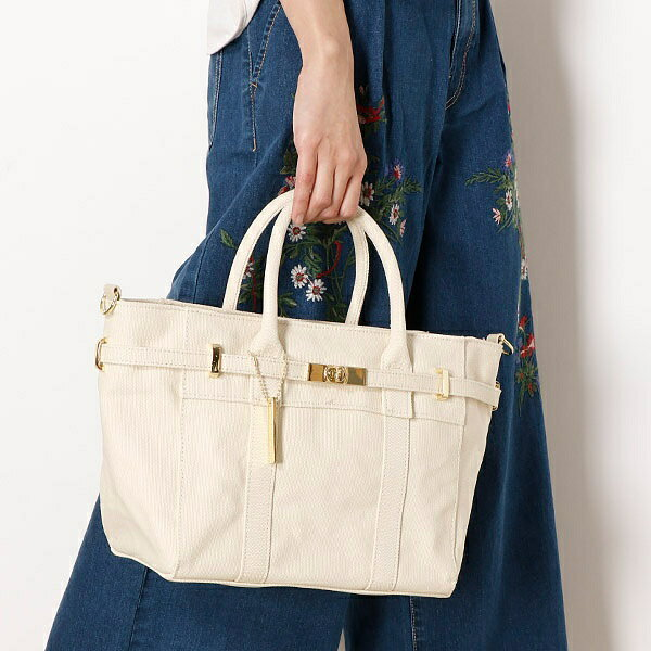 18春夏新作【MIAN】ベルトデザイン2wayトートバッグ/ブリジットバーキン・セレクト(Bridget Birkin Select)
