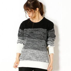 【AZ by junhashimoto】Gradation knit/アドポーション(ADOPOSION)