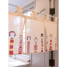 【カヤ】日本の民芸 ミニ暖簾/チャイハネ(CAYHANE)