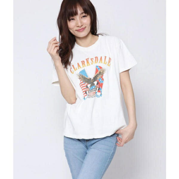 イーグルプリントTシャツ/ファクターイコール(Factor=)