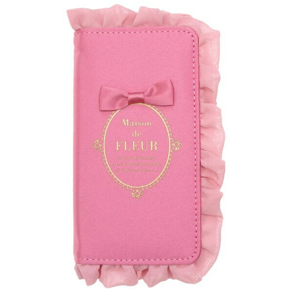 【sweet4月号掲載】ブランドロゴフリルiPhone7/8ケース/メゾン ド フルール(Maison de FLEUR)