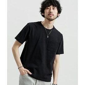 【18SS】ポケット付きBig Tシャツ/ナノ・ユニバース(メンズ)(nano universe)