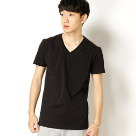 【AKM Contemporary】 Rhinestone t-shirts/アドポーション(ADOPOSION)