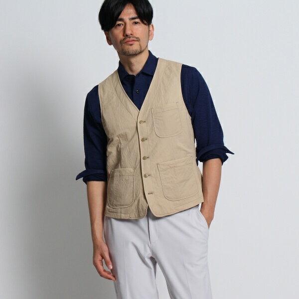 MTシャツ(ヴィンテージ調ジャージベスト[ メンズ ベスト ])/タケオキクチ(TAKEO KIKUCHI)
