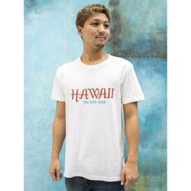 【Kahiko】MALIBU SHIRTS マップメンズTシャツM/チャイハネ(CAYHANE)