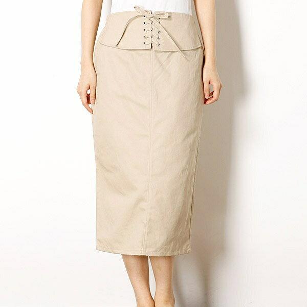 レディススカート(綿ツイルタイトスカート)/イーブスサプライ(レディース)(YEVS supply)