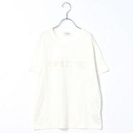 4ce3e9167aa22  ジュニアサイズ ロゴTシャツ(NEWSPORTS)/コムサフィユ(COMME CA FILLE
