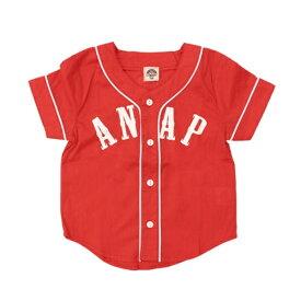 ベースボールシャツ/アナップキッズ&ガール(ANAP KIDS&GIRL)