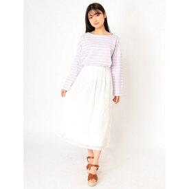 刺繍スカート/エージープラス(a.g.plus)