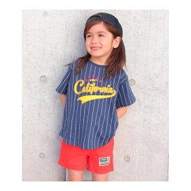 ベースボールロゴBIG-Tシャツ/アナップキッズ&ガール(ANAP KIDS&GIRL)