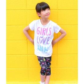 ネオン柄トップスレギンスセット/アナップキッズ&ガール(ANAP KIDS&GIRL)