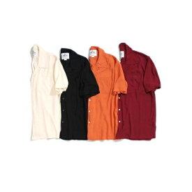 オープンカラーショートスリーブシャツ/ドゥニーム(メンズ)(Denime)