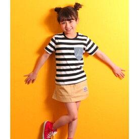 ポケットデニムTシャツ/アナップキッズ&ガール(ANAP KIDS&GIRL)