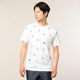 NEW スニーカーだらけTシャツ/フレディ&グロスター レディース(FREDY&GLOSTER)