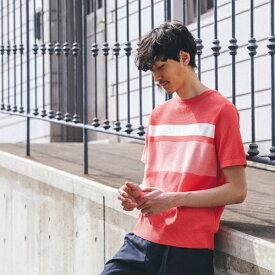 カラーパターンニットTシャツ [ メンズ Tシャツ ]/タケオキクチ(TAKEO KIKUCHI)