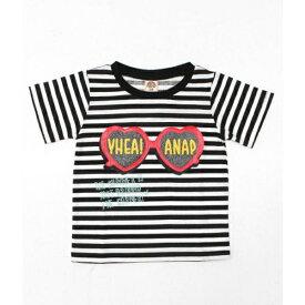 ハートサングラスプリントTシャツ/アナップキッズ&ガール(ANAP KIDS&GIRL)