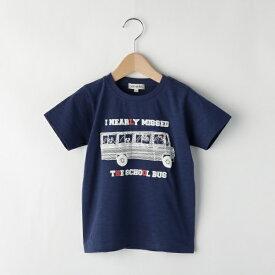 Tシャツ(スラブ天竺スクールバスTシャツ)/シューラルー(キッズ)(SHOOLARUE Kids)