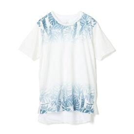 リーフプリントアンサンブルTEE(Tシャツ+タンクトップSET)/ラトルトラップ(RattleTrap)