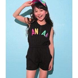 カラフルロゴオールインワン/アナップキッズ&ガール(ANAP KIDS&GIRL)