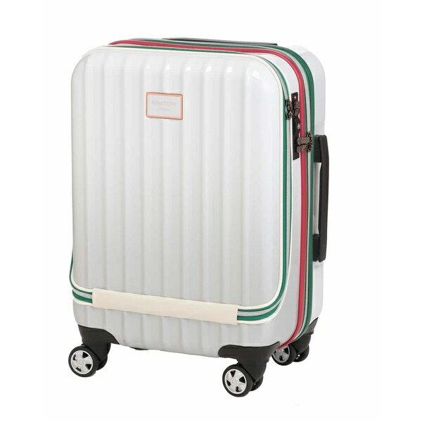 ベネトンフロントオープングラデーションキャリーケース・スーツケース 機内持込可 容量約33L TSA/ベネトン レディース(UNITED COLORS OF BENETTON)