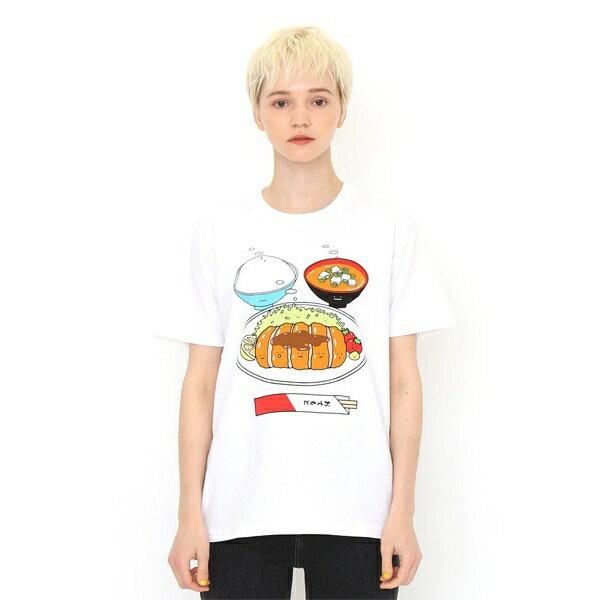 【ユニセックス】ベーシックTシャツ(トンカツテイショク)/グラニフ(graniph)