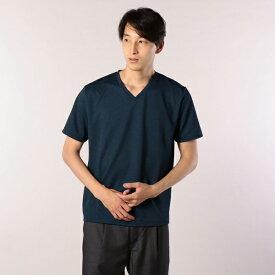 ドライ鹿の子VネックTシャツ/フレディ&グロスター メンズ(FREDY&GLOSTER)