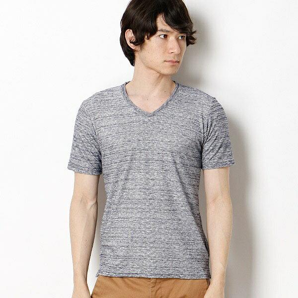 ミックスパイルTシャツ/メンズメルローズ(MEN'S MELROSE)