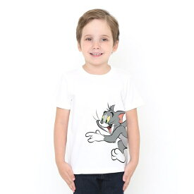【キッズ】コラボレーションTシャツ/トムとジェリー(チェイス)/グラニフ(graniph)