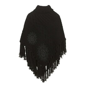 ポンチョ KNITTED PONCHO_SOFT/デシグアル(Desigual)