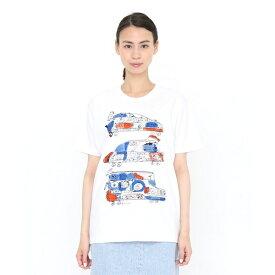 【ユニセックス】ベーシックTシャツ/ファニーカーズ(セージブロック)/グラニフ(graniph)