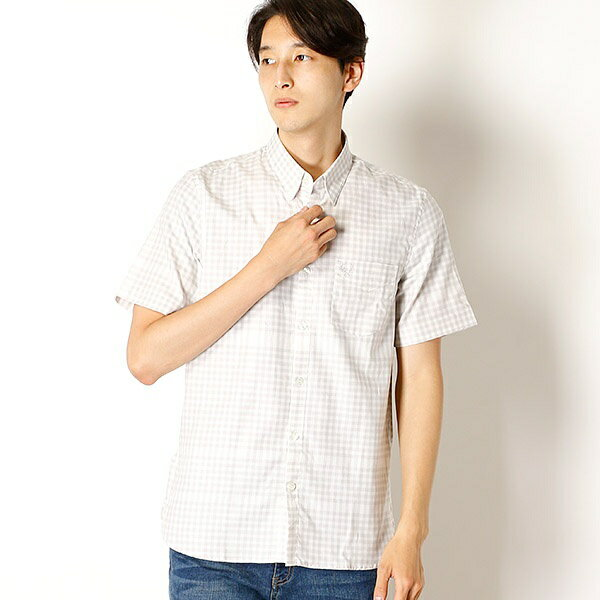 【18AW】DISTORTED GINGHAM SHIRT/フレッドペリー(メンズ)(FRED PERRY)