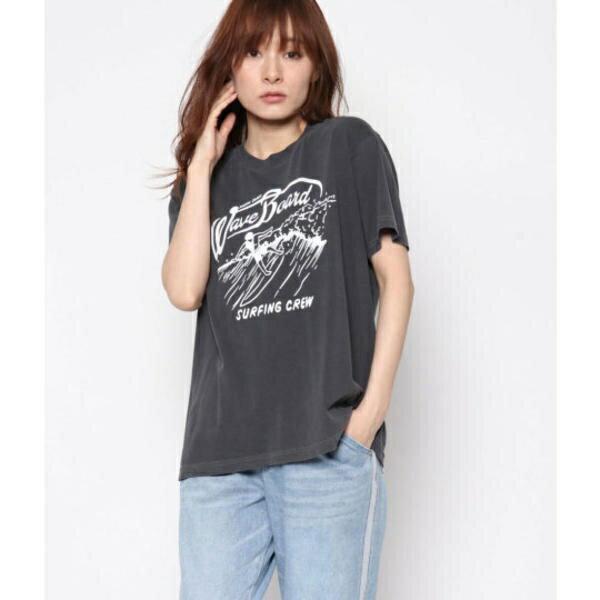 ビーチプリントTシャツ/ファクターイコール(Factor=)