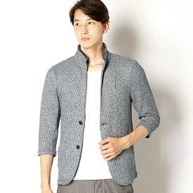 7分袖スタンドカラーニットジャケット/メンズビギ(MEN'S BIGI)