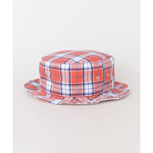 メンズボウシ(PART TIME SARVICE MADRAS CHECK REVERSIBLE HAT)/アーバンリサーチ(メンズ)(URBAN RESEARCH)