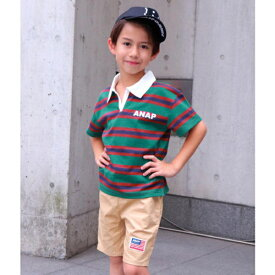e0049ee783921 ラガーシャツ/アナップキッズ&ガール(ANAP KIDS&GIRL)