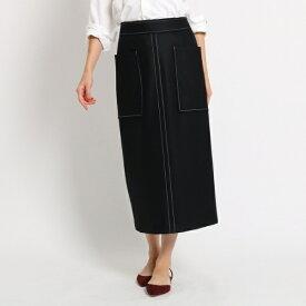 【WEB限定Lサイズあり】ウール ストレートスカート/ドレステリア(レディス)(DRESSTERIOR Ladies)