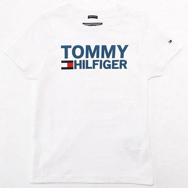 コットンロゴTシャツ/トミーヒルフィガー(キッズ)(TOMMY)