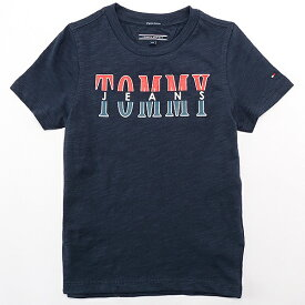 Tommy Jeans コットンTシャツ/トミーヒルフィガー(キッズ)(TOMMY)