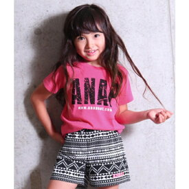スプラッシュロゴTシャツ/アナップキッズ&ガール(ANAP KIDS&GIRL)