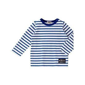 ボーダーシンプルTシャツ(デイリーシリーズ)/ミキハウス ホットビスケッツ(MIKIHOUSE HOT BISCUITS)
