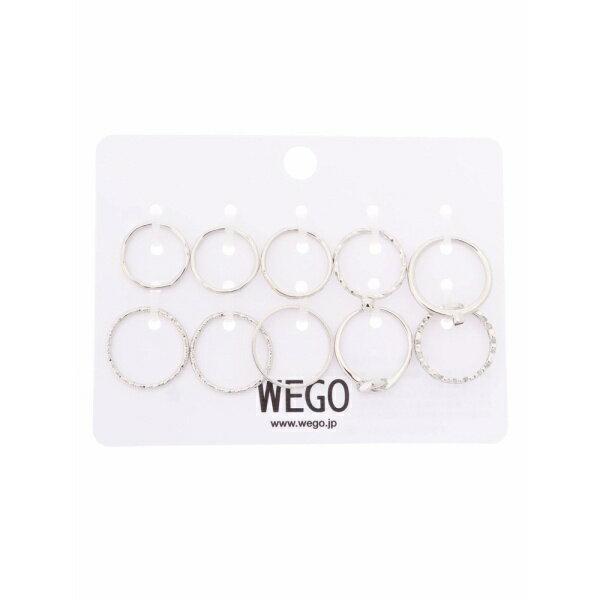 WEGO/ゴールドリングセット/ウィゴー(レディース)(WEGO)