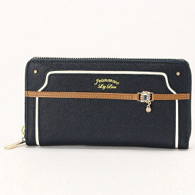d02a568fa9d6 カカオ ラウンドファスナー 長財布/リズリサ(バッグ&ウォレット)(LIZ LISA Bag&Wallet
