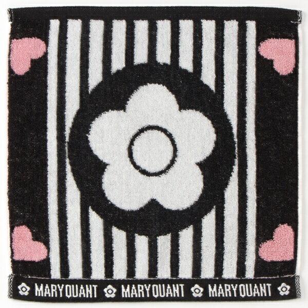 ハートストライプデイジー ミニタオル/マリークヮント(MARY QUANT)