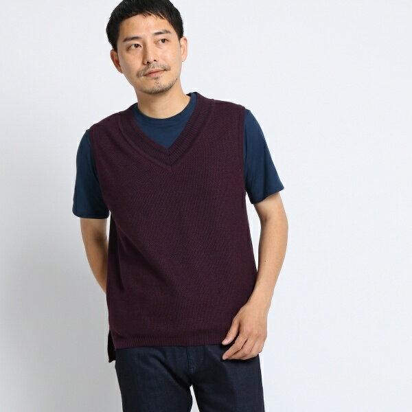 MTシャツ(リネンニットベスト[ メンズ ベスト ])/タケオキクチ(TAKEO KIKUCHI)