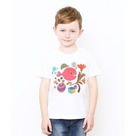 【キッズ】コラボレーションTシャツ/五味太郎(きんぎょがにげたカバー)/グラニフ(graniph)