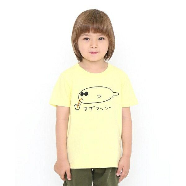 【キッズ】ベーシックTシャツ(アザラッシー)/グラニフ(graniph)
