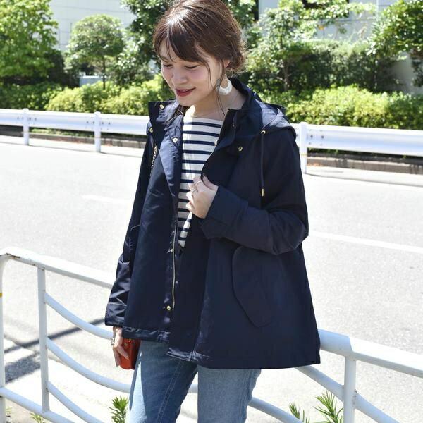【手洗い可能】ショートモッズコート◇/シップス(レディース)(SHIPS for women)