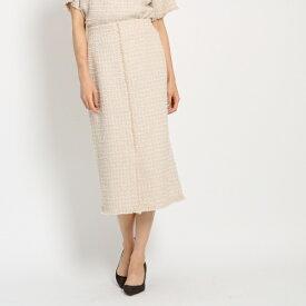ツイードタイトスカート/ドレステリア(レディス)(DRESSTERIOR Ladies)