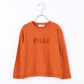 サガラ刺繍長袖Tシャツ/コムサフィユ(COMME CA FILLE)